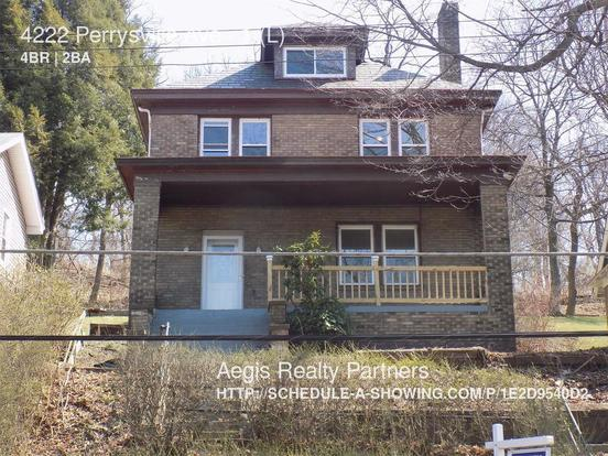 4 Bedrooms 1 Bathroom House for rent at 4222 Perrysville Ave in Pittsburgh, PA