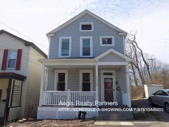 3 Bedrooms 1 Bathroom House for rent at 3325 Slope St in Pittsburgh, PA
