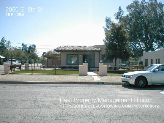 3 Bedrooms 2 Bathrooms House for rent at 2050 E. 8th St in Tucson, AZ
