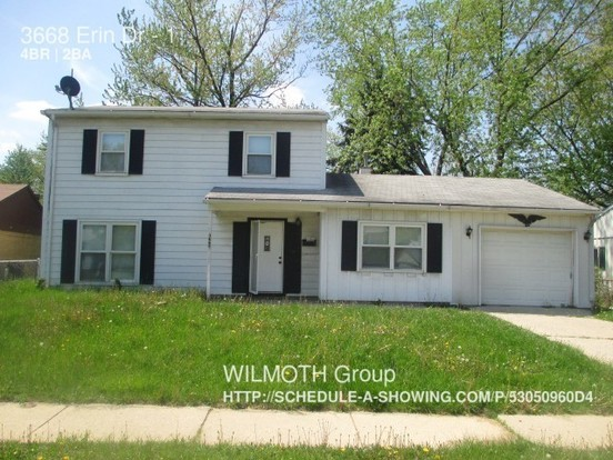 4 Bedrooms 1 Bathroom House for rent at 3668 Erin Dr in Indianapolis, IN