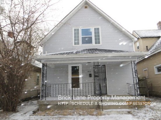 3 Bedrooms 2 Bathrooms House for rent at 943 N. Oxford St. in Indianapolis, IN