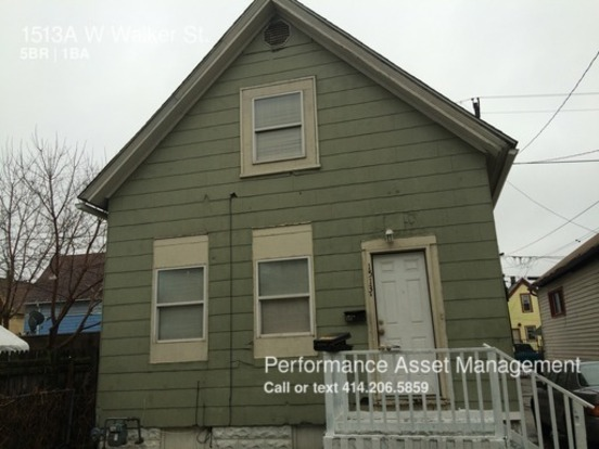 5 Bedrooms 1 Bathroom House for rent at 1513 A W Walker St. in Milwaukee, WI