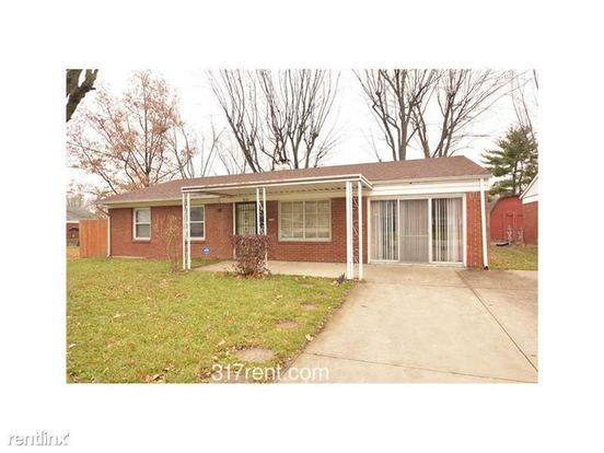 3 Bedrooms 1 Bathroom House for rent at 8132 Roy Rd in Indianapolis, IN