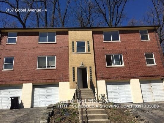 2 Bedrooms 1 Bathroom House for rent at 3137 Gobel Avenue in Cincinnati, OH