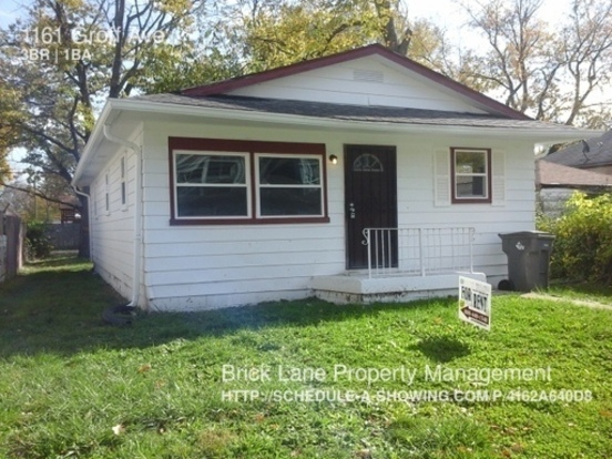 3 Bedrooms 1 Bathroom House for rent at 1161 Groff Ave in Indianapolis, IN