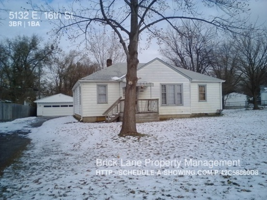 3 Bedrooms 1 Bathroom House for rent at 5132 E. 16th St. in Indianapolis, IN