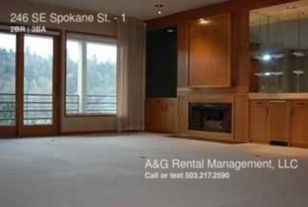 2 Bedrooms 2 Bathrooms House for rent at 246 Se Spokane St. in Portland, OR