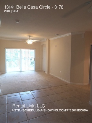 2 Bedrooms 2 Bathrooms House for rent at 13150 Bella Casa Circle in Fort Myers, FL