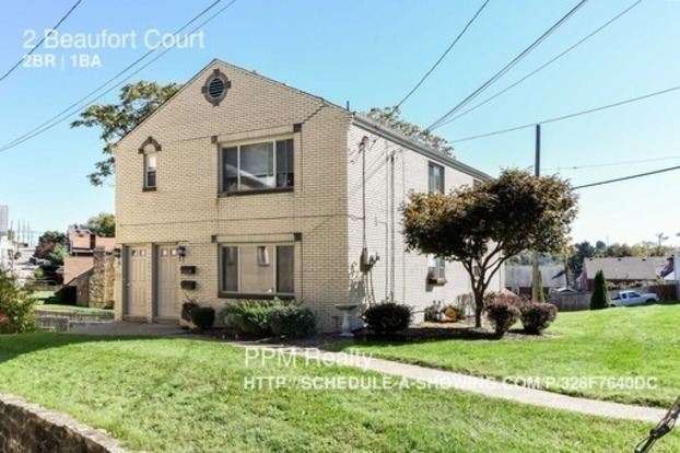 2 Bedrooms 1 Bathroom House for rent at 2 Beaufort Court in Pittsburgh, PA