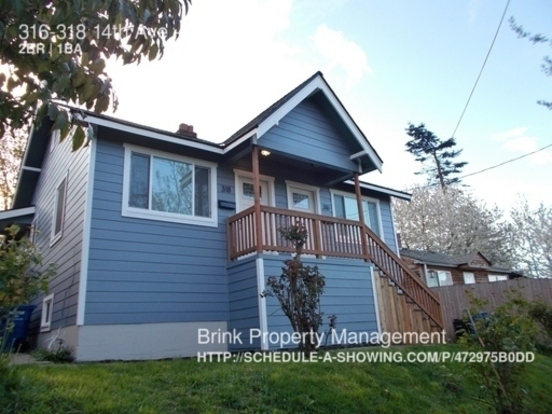 2 Bedrooms 1 Bathroom House for rent at 316 318 14th Ave in Seattle, WA