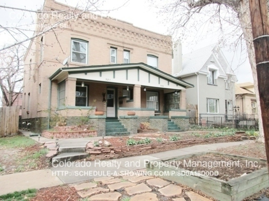 2 Bedrooms 1 Bathroom House for rent at 531 Washington St. in Denver, CO