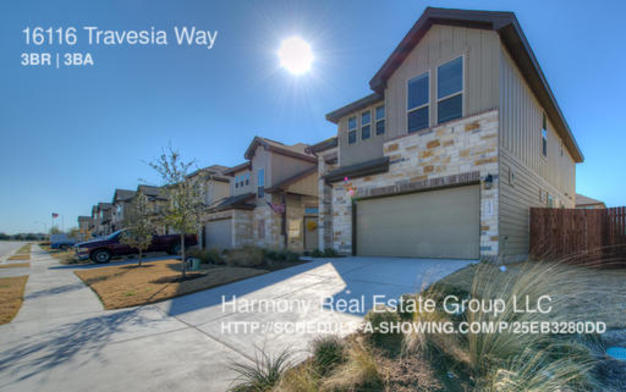 3 Bedrooms 2 Bathrooms House for rent at 16116 Travesia Way in Austin, TX
