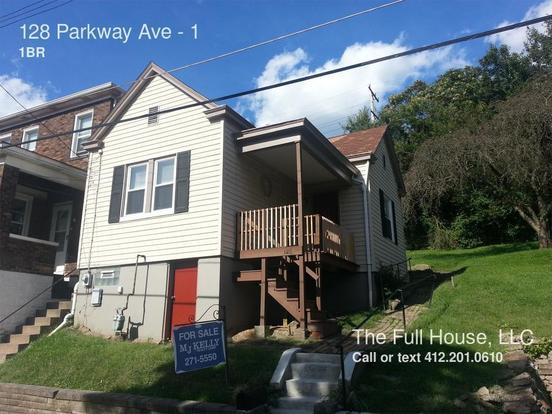 1 Bedroom 1 Bathroom House for rent at 128 Parkway Ave in East Pittsburgh, PA