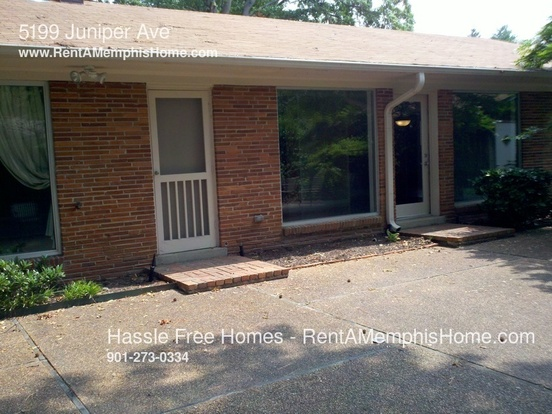 3 Bedrooms 2 Bathrooms House for rent at 5199 Juniper Ave in Memphis, TN
