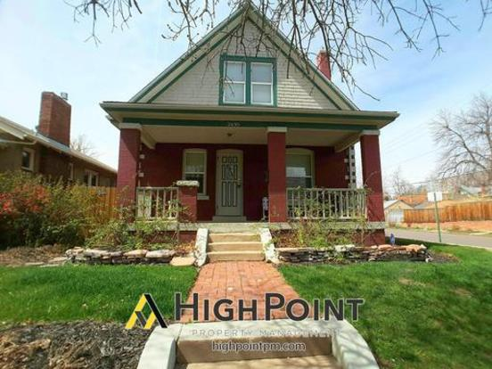 5 Bedrooms 2 Bathrooms House for rent at 2695 Irving St. in Denver, CO