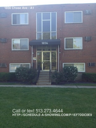 1 Bedroom 1 Bathroom House for rent at 1856 Chase Ave in Cincinnati, OH