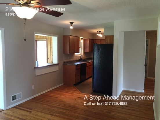 3 Bedrooms 2 Bathrooms House for rent at 2140 Lawrence Avenue in Indianapolis, IN