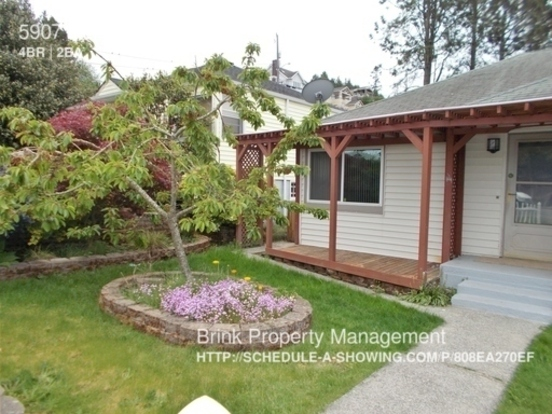 4 Bedrooms 2 Bathrooms House for rent at 5907 Sw Admiral Way in Seattle, WA