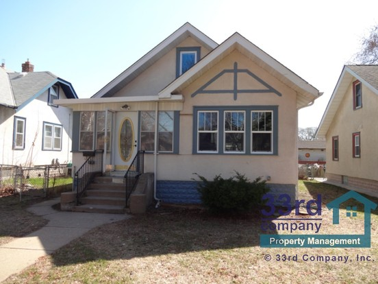 3 Bedrooms 1 Bathroom House for rent at 3715 20th Ave S. in Minneapolis, MN