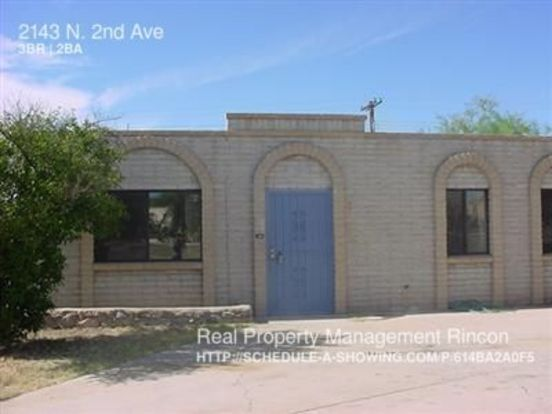 3 Bedrooms 2 Bathrooms House for rent at 2143 N. 2nd Ave in Tucson, AZ