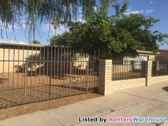 3 Bedrooms 2 Bathrooms House for rent at 3141 W Alaska St in Tucson, AZ