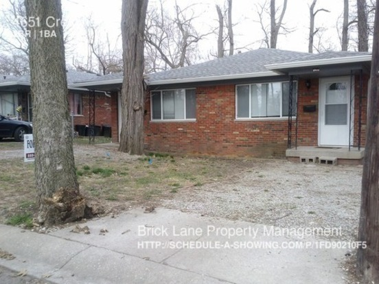 2 Bedrooms 1 Bathroom House for rent at 4651 Crestview in Indianapolis, IN