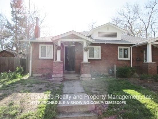 2 Bedrooms 1 Bathroom House for rent at 143 S Sherman St in Denver, CO