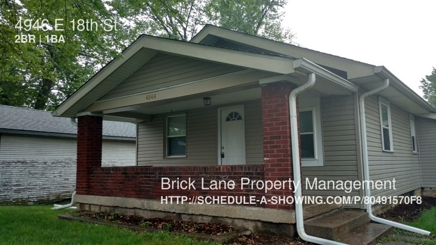 2 Bedrooms 1 Bathroom House for rent at 4946 E 18th St in Indianapolis, IN
