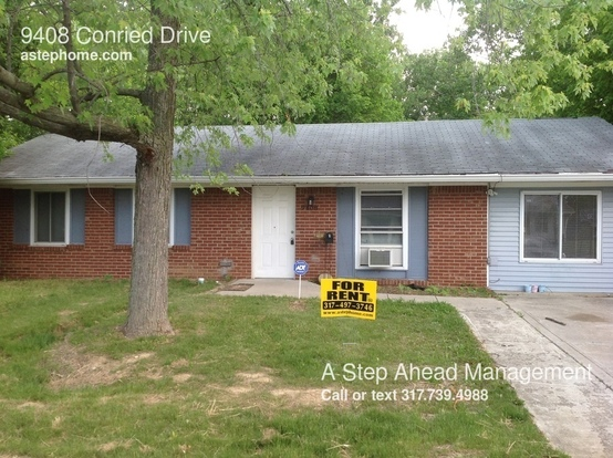 3 Bedrooms 1 Bathroom House for rent at 9408 Conried Drive in Indianapolis, IN
