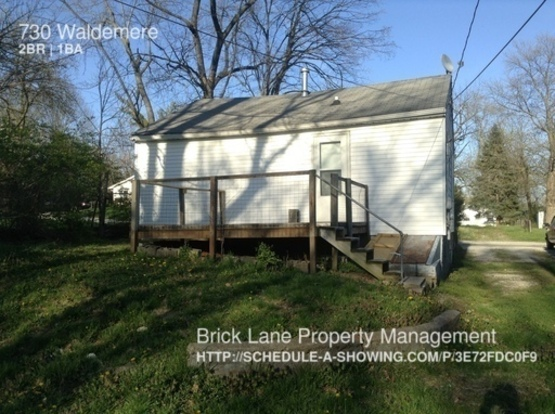 2 Bedrooms 1 Bathroom House for rent at 730 Waldermere in Indianapolis, IN