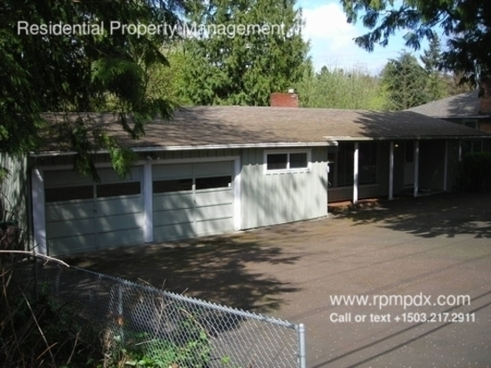 4 Bedrooms 1 Bathroom House for rent at 6121 Sw Vermont Street in Portland, OR