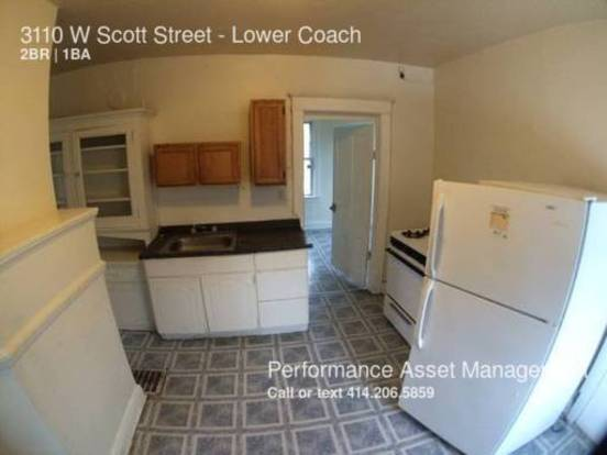 2 Bedrooms 1 Bathroom House for rent at 3110 W Scott Street in Milwaukee, WI