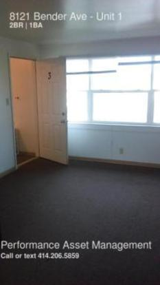 2 Bedrooms 1 Bathroom House for rent at 8121 Bender Ave in Milwaukee, WI