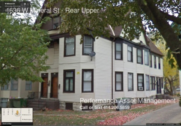 2 Bedrooms 1 Bathroom House for rent at 1636 W Mineral St in Milwaukee, WI