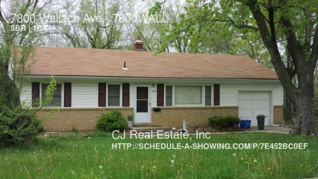 3 Bedrooms 1 Bathroom House for rent at 7800 Wallace Ave in Kansas City, MO