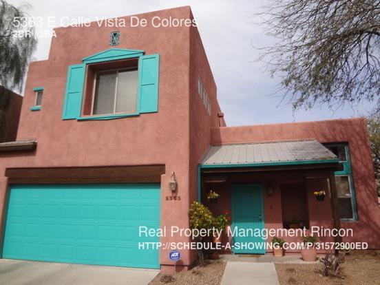2 Bedrooms 2 Bathrooms House for rent at 5363 E Calle Vista De Colores in Tucson, AZ
