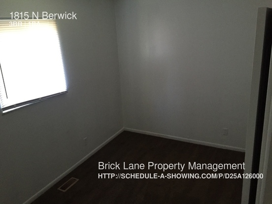 3 Bedrooms 1 Bathroom House for rent at 1815 N Berwick in Indianapolis, IN