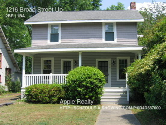 2 Bedrooms 1 Bathroom House for rent at 1216 Broad Street Down in Durrham, NC