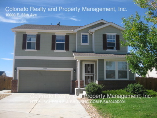 5 Bedrooms 2 Bathrooms House for rent at 16000 E. 55th Ave in Denver, CO