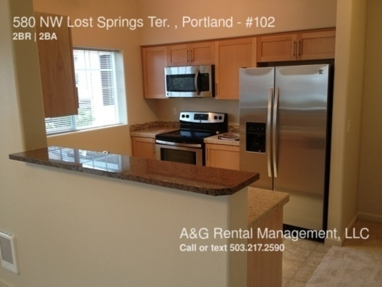 2 Bedrooms 2 Bathrooms House for rent at 580 Nw Lost Springs Ter. , Portland in Portland, OR