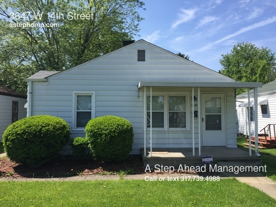 2 Bedrooms 1 Bathroom House for rent at 3647 W 14th Street in Indianapolis, IN