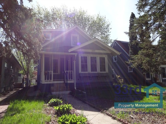 3 Bedrooms 2 Bathrooms House for rent at 5317 41st Avenue in Minneapolis, MN