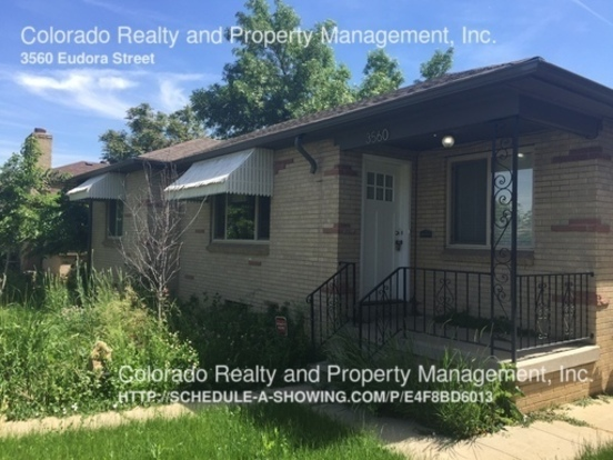 4 Bedrooms 2 Bathrooms House for rent at 3560 Eudora Street in Denver, CO