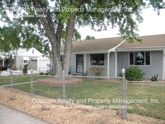 3 Bedrooms 2 Bathrooms House for rent at 1236 S Osceola Street in Denver, CO