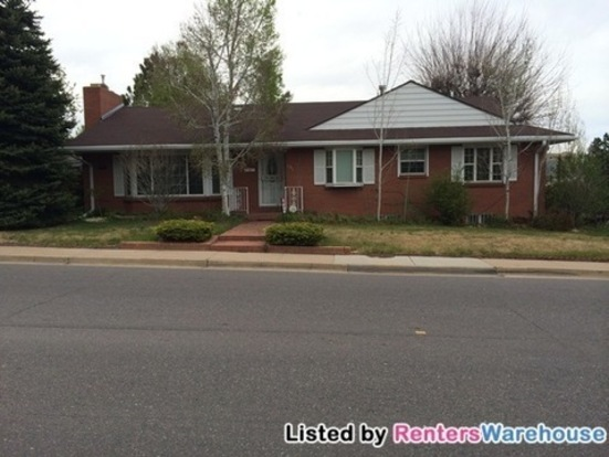 4 Bedrooms 3 Bathrooms House for rent at 681 S Harrison Ln in Denver, CO