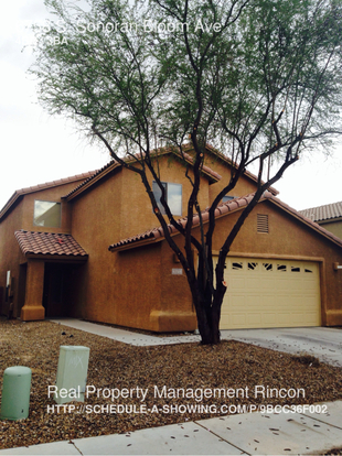 4 Bedrooms 2 Bathrooms House for rent at 6758 S. Sonoran Bloom Ave in Tucson, AZ