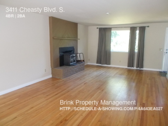 4 Bedrooms 2 Bathrooms House for rent at 3411 Cheasty Blvd. S. in Seattle, WA