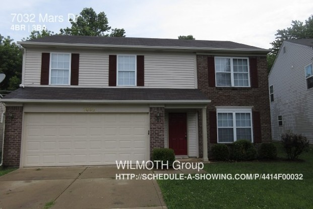 4 Bedrooms 2 Bathrooms House for rent at 7032 Mars Dr in Indianapolis, IN