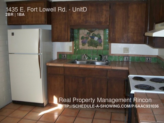 2 Bedrooms 1 Bathroom House for rent at 1435 E. Fort Lowell Rd. in Tucson, AZ