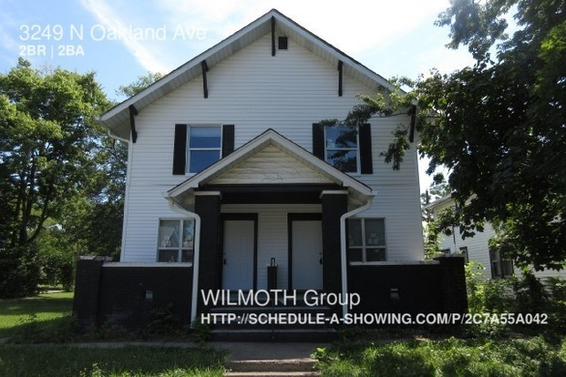 2 Bedrooms 1 Bathroom House for rent at 3249 N Oakland Ave in Indianapolis, IN